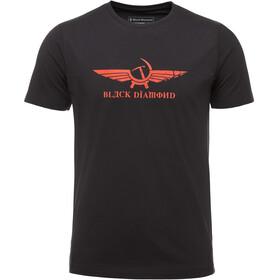 Black Diamond Perestroika Bluzka z krótkim rękawem Mężczyźni czarny